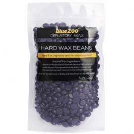 100g Purple Lavender Removal Cream Color No Strip Depilatory Hot Film Hard Wax Pellet Waxing Bikini Hair Removal Bean P2 紫色