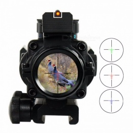 4x32 Acog Riflescope 20mm Dovetail Reflex Optics Scope Tactical Sight For Hunting Gun Rifle Airsoft Sniper Magnifier Air Gun Acog Riflescope