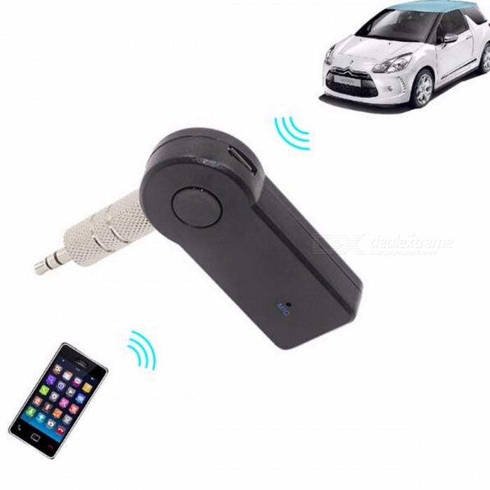 Mini Wireless Bluetooth Music Receiver Audio Sound Adapter Car AUX Kit 3.5mm Jack for Portable Speaker Headphone