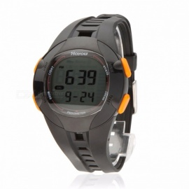30M Waterproof Multi Function Walking Running Sports Watch Step Calorie Distance Counter Backlight 3D Pedometer Digital Watch Black