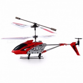 Original Syma S107G S107 3CH Mini RC Helicoptero Drone Gyro Alloy Radio Control Mini Copter Flying Toy Red