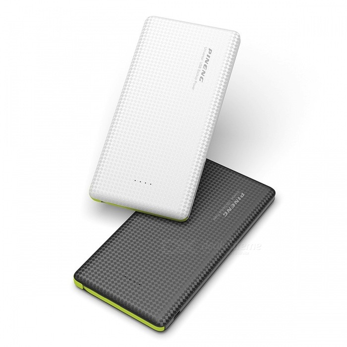 Ugreen Portable Thin Slim Dual USB 10000mAh Power Bank External Battery Powerbank with Charging Cable for Mobile Phones