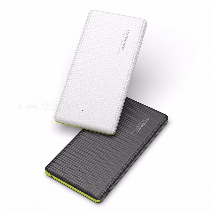 Genuine PINENG PN951 10000mAh Portable Power Bank Mobile External Battery Charger Built-In Charging Cable for IPHONE, Samsung