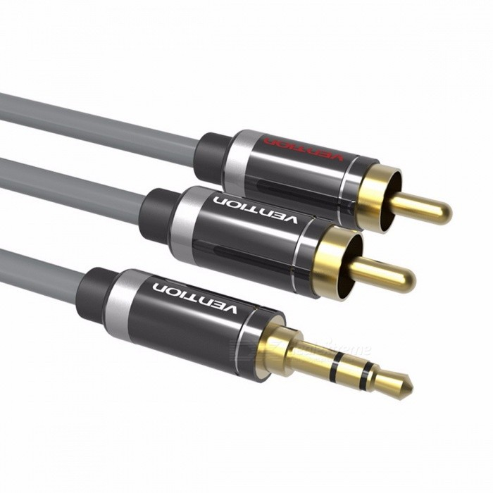 Vention RCA Audio Cable 3.5mm Jack to 2 RCA AUX Cable for Home Theater IPHONE Headphone DVD 1m 2m 3m 5m Length