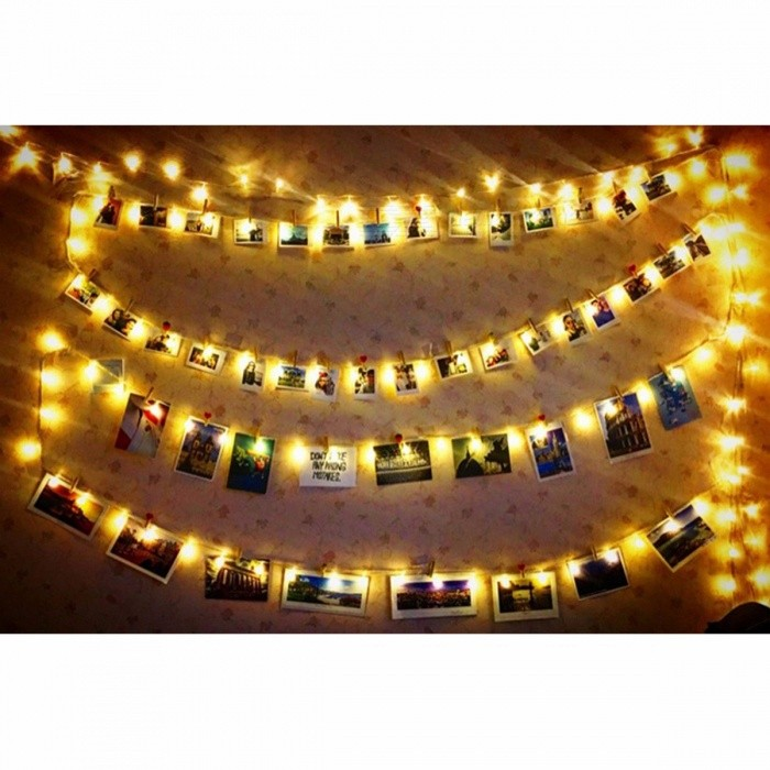 USB / Battery Operated 10/30 LED Fairy String Lights ...