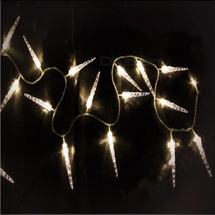 Super Bright 10m 50-LED Icicle Fairy String Lights for New Year Christmas Xmas Wedding Party Decoration