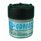 GD900 Thermal Conductive Grease Paste Silicone Heatsink Compound Net Weight 30 Grams High Performance Gray For CPU CN30 green