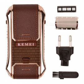 Kemei 2-in-1 Rechargeable Professional Pocket-Size Electric Razor Shaver for Men, Shaving Beard Hair Trimmer Epilator
