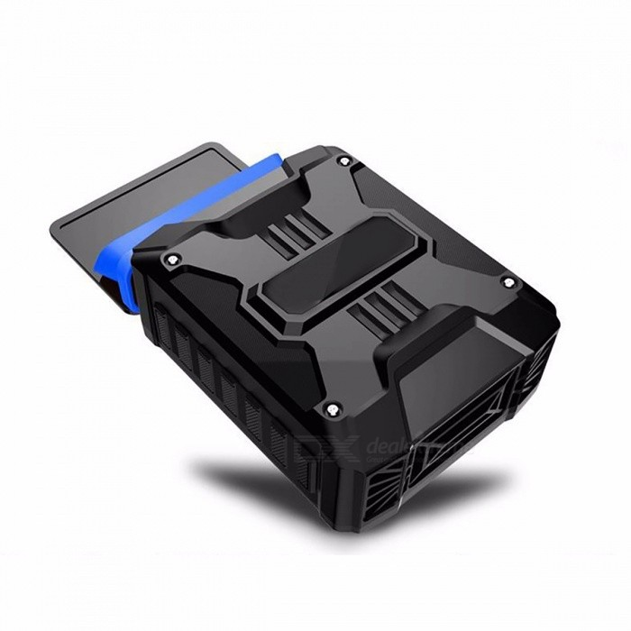 Mini Vacuum USB Laptop Cooler Air Extracting Exhaust Cooling Fan For Notebook Computer CPU Hardware Black