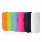 Wopow Universal Power Bank Charger, Real 5600mAh USB External Battery Mobile Backup Powerbank for IPHONE IPOD IPAD Mobile Phone Rose red