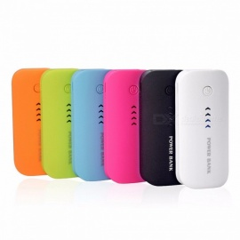 Wopow Universal Power Bank Charger, Real 5600mAh USB External Battery Mobile Backup Powerbank for IPHONE IPOD IPAD Mobile Phone Blue