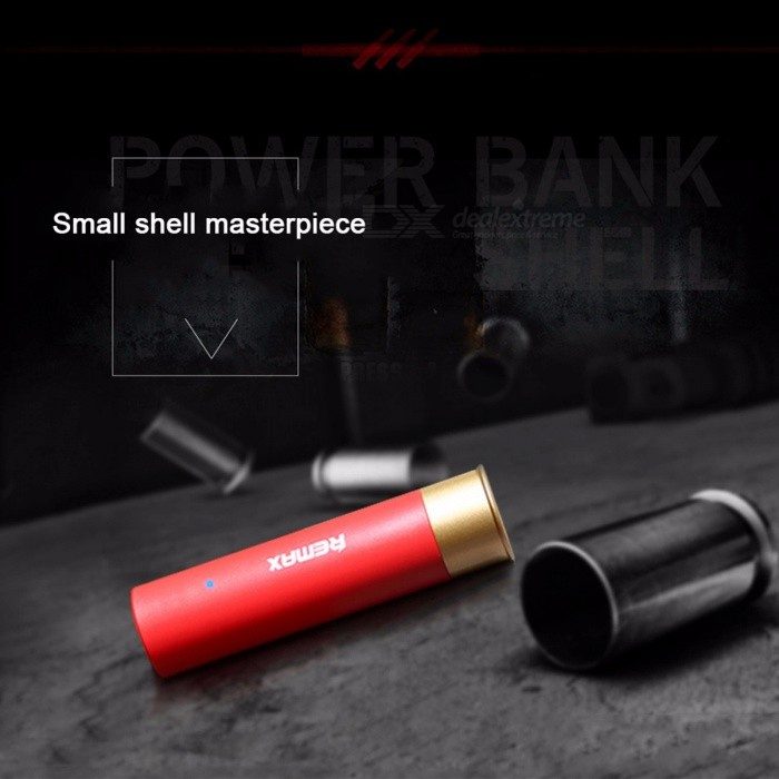 Original Remax RPL-18 Portable Delicate 2500mAh Power Bank with Lipstick Design for IPHONE, Xiaomi Max2 Android Phones