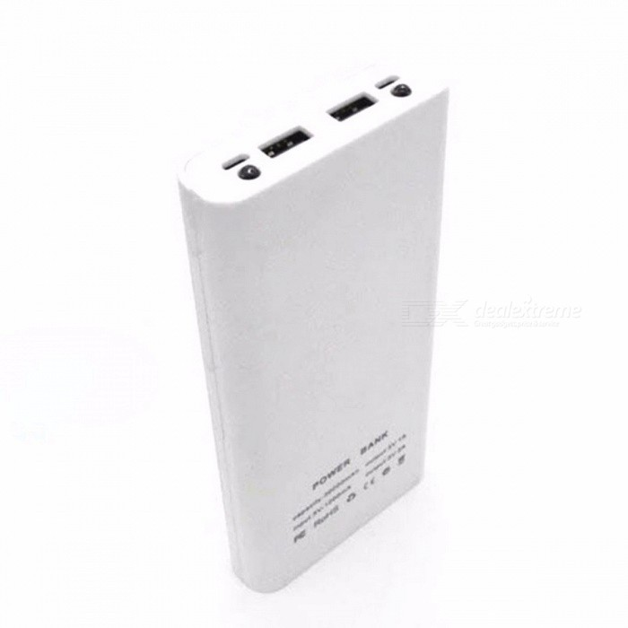 DIY 18650 Case Power Bank Shell Case Portable External 18650 Battery Box Charger with LCD Display for Cell Phone