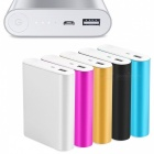 DIY Portable Universal USB 5V 2.1A 4x18650 Power Bank Case Kit Battery Charger Box for Smart Cell Phones Black