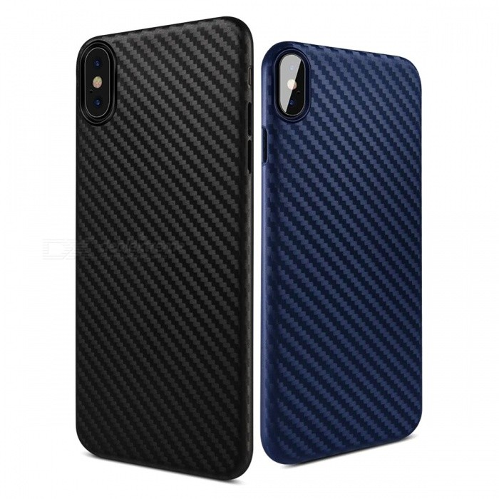 Stylish Carbon Fiber Design Slim PP Back Case For IPHONE X / For IPHONE 7 / 7 PLUS Fashion Cases Dirt-Proof Phone Cover For iPhone 7 Plus/BlueTPU Cases<br>DescriptionCompatible iPhone Model: iPhone 7 Plus,iPhone X,iPhone 7Retail Package: YesBrand Name: HOCODesign: PlainCompatible Brand: Apple iPhonesFunction: Dirt-resistantType: Fitted Case<br>