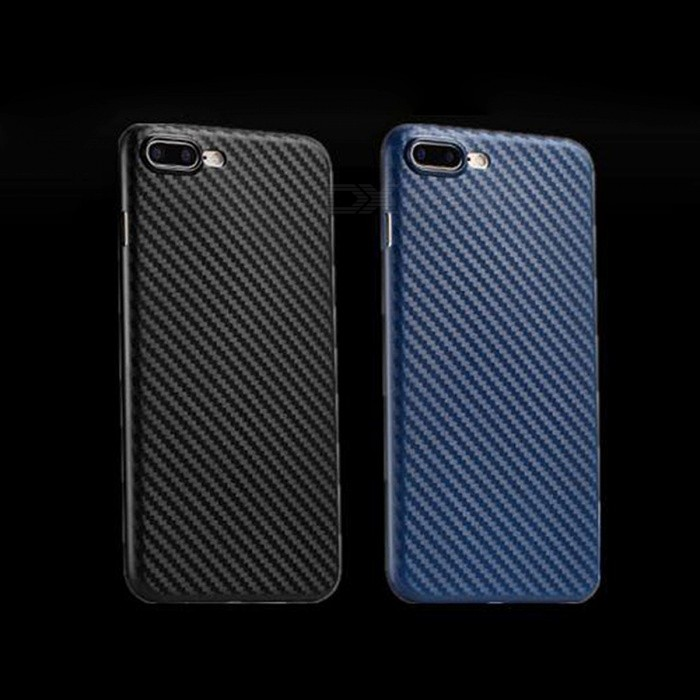 Stylish Carbon Fiber Design Slim PP Back Case For IPHONE X / For IPHONE 7 / 7 PLUS Fashion Cases Dirt-Proof Phone Cover