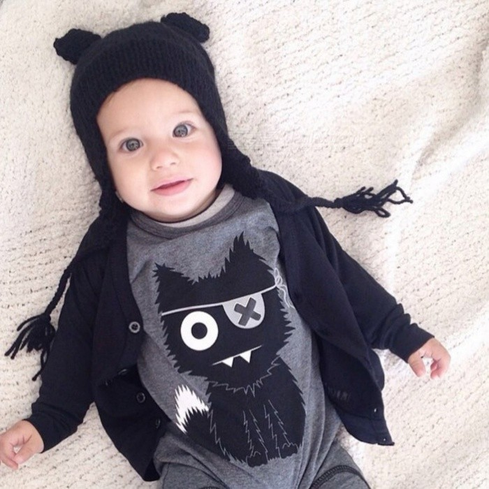 Cute Baby Rompers Cotton Baby Boy Clothing Newborn Baby Girl Clothes