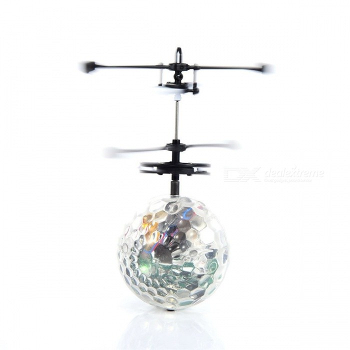 RC Flying Ball Colorful Flyings RC Toy Drone Helicopter Ball Built-in Shinning LED Lighting for Kids Teenagers