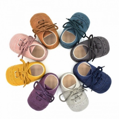 Stylish Baby Shoes Nubuck Leather Moccasins Soft Footwear Shoes for Girls Baby Kids Boys Sneakers Winter Shoes 0-6 Months/Blue