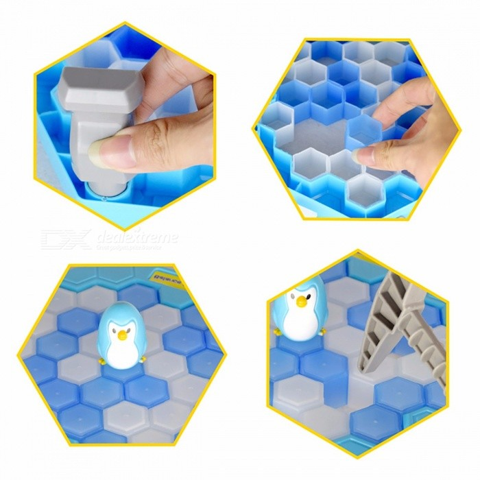 Save The Penguin Ice Breaking Toys Great Family Gifts Desktop Game Fun Game Who Make The Penguin Fall Off Lose This Game