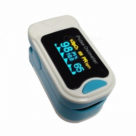 Oximetro Pulse Oximeter De Pulso De Dedo Fingertip Pulse Oximeter  Two Color Pulsioximetro Oled Heart Rate Monitor CE  M130B blue