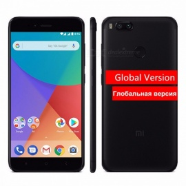 "Xiaomi Mi A1 MiA1 Global Version FDD 5.5"" Octa-core Android Mobile Phone 4GB RAM 32GB ROM Snapdragon 625 with Fingerprint  Black/32GB"