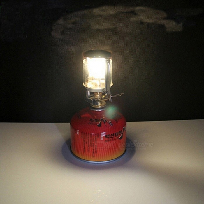 Camping Gas Lantern Light Portable Hanging Propane Butane Lamp Light Outdoor