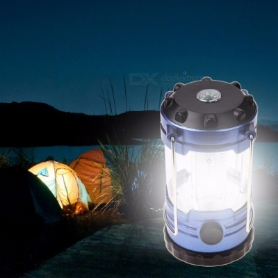 Outdoor Camping Lantern Flashlights Lamp With Compass Portable Tent Laterns Adjustable LED Hiking Bivouac Camping Tents Light  picture color