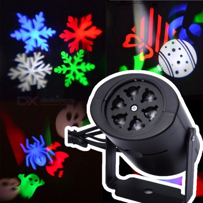 Outdoor Laser Projector Light LED Stage Light Heart Snow Spider Bowknot Bat Christmas Party Landscape Light Garden Lamp US plugStage Lights<br>DescriptionItem Type: Stage Lighting EffectStyle: DMX Stage LightOccasion: Home Entertainment<br>