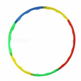Fitness 7 Sections Magnetic Hula Hoop Massage Hula-hoop Hoops for Women or Children Kids Bodybuilding picture show