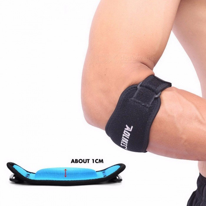 Adjustable Elbow Support Basketball Badminton Tennis Golf Guard Golfer's Strap Elbow Pads Lateral Pain Syndrome Brace