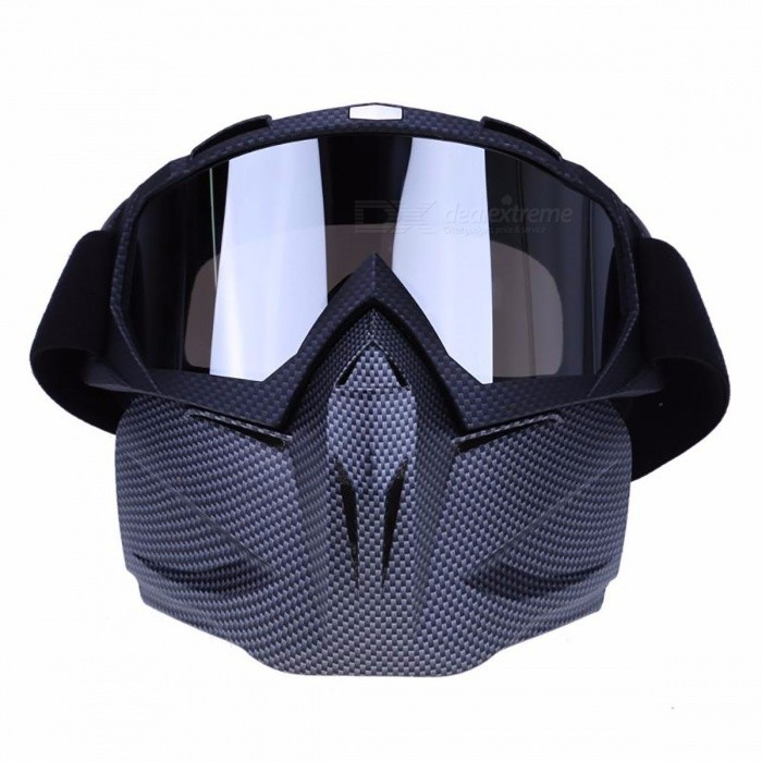 Lightweight Windproof Bike Cycling Eyewear Face Mask, Bicycle Motorcycle Goggles Glasses for Winter Sports Ski Snowboard
