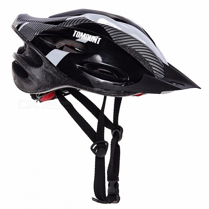 Unisex Adults Road MTB Bike Helmet with Safety Visor, Adjustable Strap for Mountain Racing Bicycle Cycling Sports