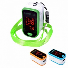 SH-K4 LED Display Finger Pulse Oximeter Affordable Accurate Saturometro Pulsioximetro 4 Colors for Choose green