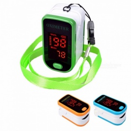 SH-K4 LED Display Finger Pulse Oximeter Affordable Accurate Saturometro Pulsioximetro 4 Colors for Choose blue