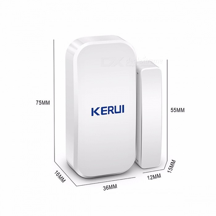 Original KERUI D025 Wireless 433MHz Door Window Magnet Sensor Detector for Home Wireless Alarm System