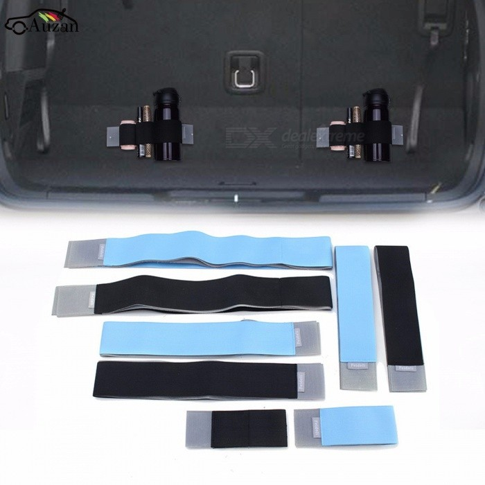 Car Trunk Elastic Organizer Color Strap Fixed Sundry Stowing Tidying Automobiles Interior Accessories Black 60cmOther Interior<br>DescriptionBrand Name: AutoleaderType: Trunk Box / Bag<br>