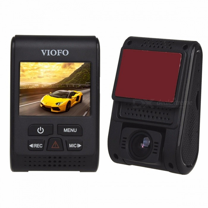 VIOFO A119S V2 2.0 Capacitor Novatek HD 1080p 7G F1.6 Car Dashcam video Camera DVR optional GPS CPL Hardwire Cable No Memory card/StandardCar DVRs<br>Description<br><br><br><br><br>Item Type: Car DVR<br><br><br>Interface: AV-Out,USB2.0<br><br><br><br><br>OSD Language: Chinese (Simplified),Russian,French,Russia,English<br><br><br>Chipset Manufacturer: Novatek<br><br><br><br><br>Special Features: Super Capacitors,Microphone,SD/MMC Card,Anti Vibration,Cycle Recording,G-sensor,Cyclic Recording,Night Vision<br><br><br>Video Code: H.264<br><br><br><br><br>Max External Memory: 128G<br><br><br>Brand Name: VIOFO<br><br><br><br><br>Number Of Lenses: 1<br><br><br>GPS logger: External<br><br><br><br><br>Display Size: 2.0<br><br><br>Video Format: MPEG-4<br><br><br><br><br>Battery: None<br><br><br>Memory Card Required Reding Speed: Class 10<br><br><br><br><br>Original Package: Yes<br><br><br>Pixels: 500Mega<br><br><br><br><br>Camera Resolution: 1920x1080<br><br><br>View angle: 140°<br><br><br><br><br>Frames Per Second: 30<br><br><br>Screen Ratio: 4:3<br><br><br><br><br>Touch Screen: No<br><br><br>Assembly Mode: Hidden Type<br><br><br><br><br><br><br>Compare with previous A119, new module A119S dash camera uses same main chipest Novatek 96660 but different IMX291 lens sensor,it get better night recording video quality than A119 module!<br>&amp;nbsp;<br>Secondly,A119S takes 1080p 60fps video recording,it can take clear photo for license plate even with a high speed driving;<br>&amp;nbsp;<br>Finally,the lens does not move left and right on the A119S module,but can on A119 module;<br><br>&amp;nbsp;<br>Features:<br>1080P 30/60fps HD video audio recording<br>2.0 inch LCD screen<br>7G F1.6 and 135 degree wide angle lens<br>Novatek NT96660 chipset + IMX291 image sensor<br>Capacitor model for improved operating temperature records in loop recording<br>WDR function can switch on automatically to get sharp video recording quality<br>LDWS Function supports<br>G-Sensor / motion detection capa