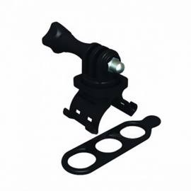 TRIGO Oudoor Cycling Riding Mountain Bike Bicycle Mount Holder Bracket Support for Mobile Phones, Flashlight Black