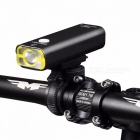GACIRON Cycling Waterproof LED Headlight USB Rechargeable 400 Lumens Handlebar Front Light Lamp Bicycle Accessories V9C 400 Black