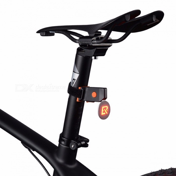 ROCKBROS Cycling Bike LED Highlight Taillight Bicycle Safety Warning ...
