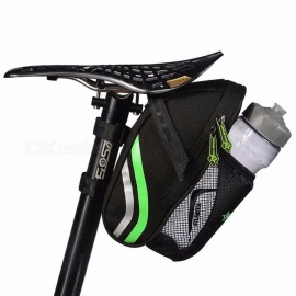 RockBros Folding Bike Bicycle Tail Rear Seatpost Saddle Bottle Bag, MTB Mountain Road Cycling Riding Portable Seat Pouch Package C7
