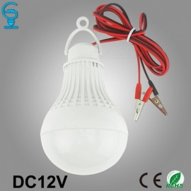 Clip-On LED Bulbs 12V DC LED Lamp 6000K SMD 5730 Home Camping Hunting Emergency Outdoor Light lamparas (Cool White)12W