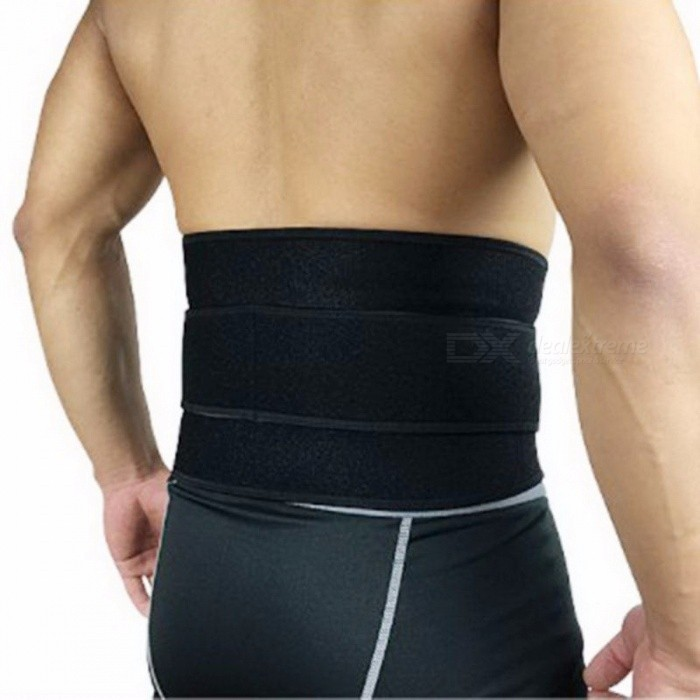 High Elastic SBR Belt for Sports Safety, Ajustable Waist Support Brace, Fitness Gym Lumbar Back Waist Protective Supporter