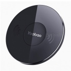 Yoobao YBD1 Portable Thin Wireless Charger, Fast Charging Pad for Iphone X 8 Samsung LG Nokia Moto HTC Sony Google  White