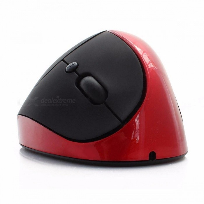 1600 DPI Ergonomic Vertical USB 2.4GHz Wireless Computer Mouse, Cordless Optical Gaming Mice for PC Laptop Gamer RedWireless Mouse<br>Description<br><br><br><br><br>Power Type: Rechargeable<br><br><br>Type: 2.4Ghz Wireless<br><br><br><br><br>Style: 3D<br><br><br>Time to market: Dec-04<br><br><br><br><br>Brand Name: CHYI<br><br><br>Package: Yes<br><br><br><br><br>Hand Orientation: Right<br><br><br>Gross Weight: 270g<br><br><br><br><br>Interface Type: USB<br><br><br>Number of Buttons: 5<br><br><br><br><br>DPI: 1600<br><br><br>Operation Mode: Opto-electronic<br><br><br><br><br>Number of Rollers: 1<br><br><br><br><br><br><br><br><br><br>Type: ergonomic design mouse,vertical mouse wireless <br><br><br>Net weight: 120g <br><br><br>DPI: 800-1200-1600DPI <br><br><br>Power supply: Built-in battery <br><br><br>Color: Black,Red,Gray,Blue,Purple <br><br><br>Size: 105*75*65mm <br><br><br>Place of Origin: China (Mainland) <br><br><br>Product: Status <br><br><br>Package: PP bag <br><br><br>Application: For Video Game, Desktop, For Office Use, For H<br><br><br><br>Packaged included: <br><br><br><br>1 x Receiver <br><br><br>1 x 2.4GHz Wireless Mouse <br><br><br><br>Specification: <br><br><br><br><br>100% brand new and high quality. <br><br><br><br><br>Ergonomically<br> designed, optical tracking technology, working on many different <br>surfaces and ideal usage for home, office or game.&amp;nbsp; <br><br><br><br><br>Wireless 2.4 GHz &amp;nbsp;mouse, comfortable touch. <br><br><br><br><br>Rolling line by line up and down; rolling column by column from left to right <br><br><br><br><br>Low-voltage alarming function <br><br><br><br><br>Plug and play mode, no need driver <br><br><br><br><br>The dongle can be stored into the mouse neatly when it is not used <br><br><br><br><br>Receiver storage space and carrying easily &amp;nbsp; <br><br><br><br><br>System support: Windows 2000, Windows XP, Windows 7, Windows Vista, Windows 98, Mac OS, Windows ME, Windows 8&amp;nbsp;<br>