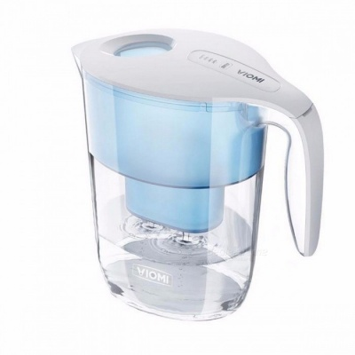 Xiaomi VIOMI 3.5L Water Filter Pitcher Filtration Dispenser Cup with 7 Multipurpose Filter Water Purifier for Healthy only 3pcs Filter