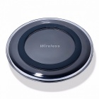 HAISSKY Mini Qi Wireless Charger, USB Charging Pad for IPHONE X 8 Plus Samsung Galaxy S8 Plus S6 S7 Edge Note 5 8 Elephone P9000 Wilress Charger/White