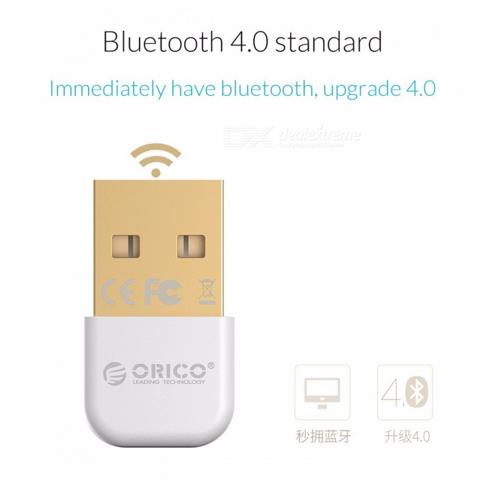 ORICO BTA-403 Mini Portable Small Exquisite Bluetooth V4.0 USB Adapter Connector for Win 7 / 8 / 10 / Vista / XP