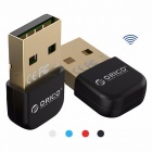 ORICO BTA-403 Mini Portable Small Exquisite Bluetooth V4.0 USB Adapter Connector for Win 7 / 8 / 10 / Vista / XP Black